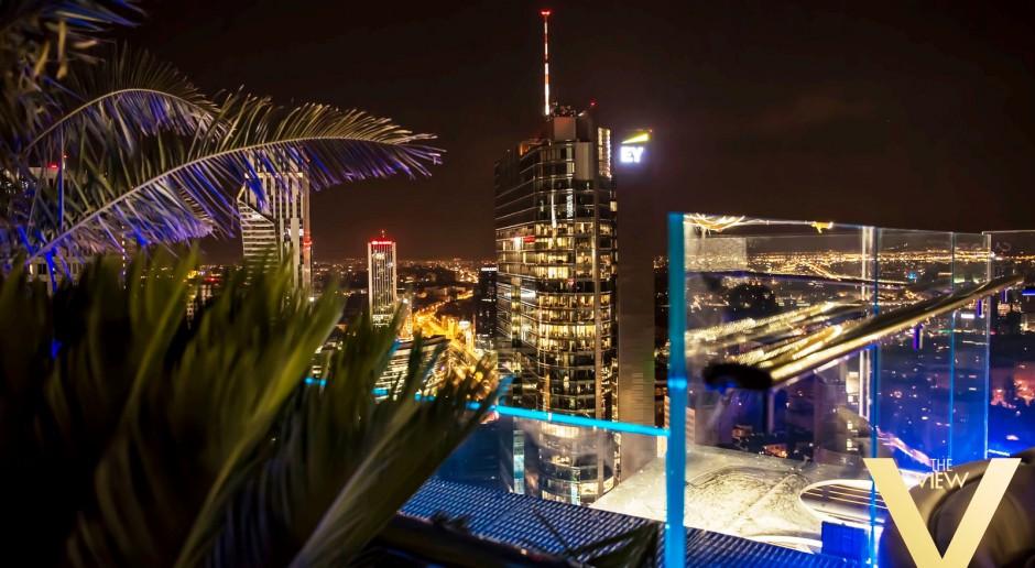 Nocny klub The View na dachu warszawskiego wieżowca