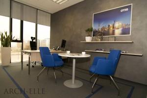 Biuro dla firmy Otis według projektu Arch-Elle
