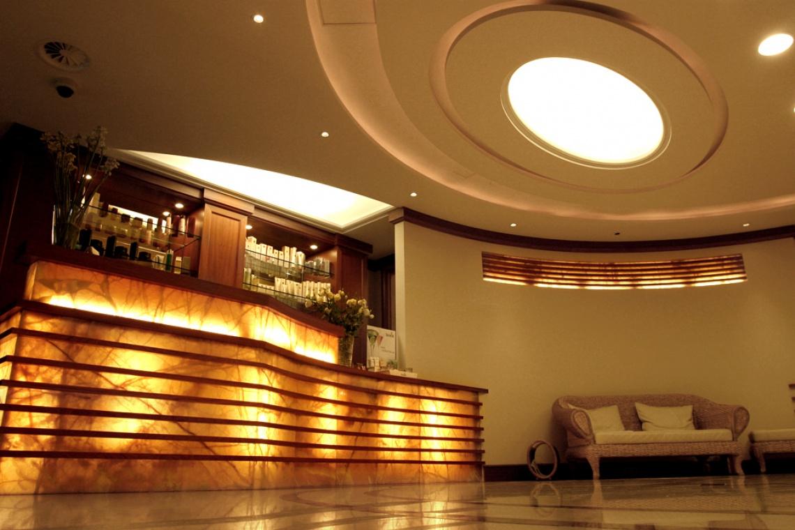 Strefę SPA w sopockim hotelu Haffner zaprojektowało Pik Studio