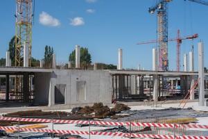 Co nowego na budowie Business Garden Wrocław projektu APA Wojciechowski?
