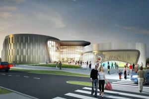 CH Skałka projektu Bose International z pozwoleniem na budowę