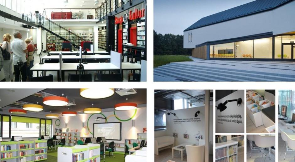 Nowo powstałe biblioteki urzekają architekturą i designem