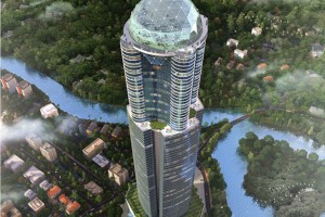 Zjawiskowe wieżowce - wyróżnia je kształt, materiał i wysokość