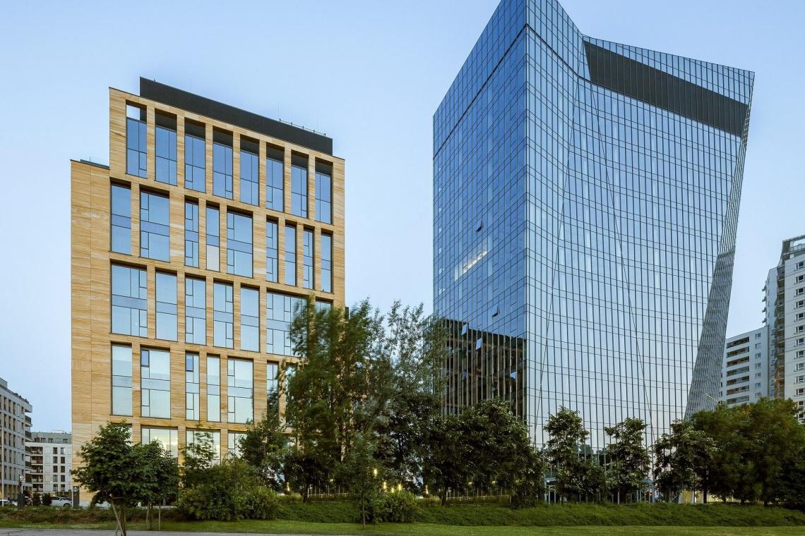 Gdański Business Center I projektu E&L Architects z BREEAM Excellent