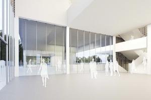 Riegler Riewe Architekten wygrali konkurs na dworzec z centrum kultury