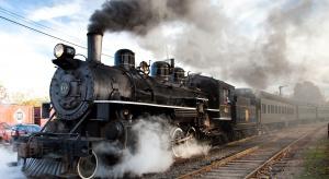 Historyczny pociąg z parowozem na trasie Berlin-Szczecin