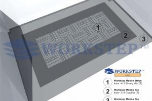 Coniveo wprowadza nowe rodzaje wykładzin w kolekcji Workstep Mobilo