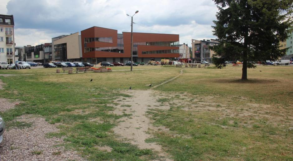 Kto zaprojektuje plac ratuszowy z fontanną dla Wyszkowa?