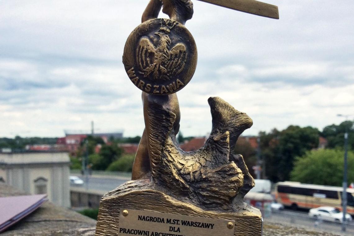 Władze Warszawy doceniły pracownię WWAA