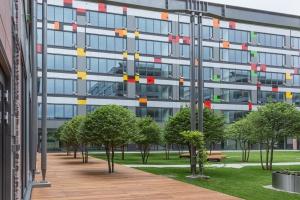 TOP 6 najbardziej zielonych dziedzińców w kompleksach biurowych