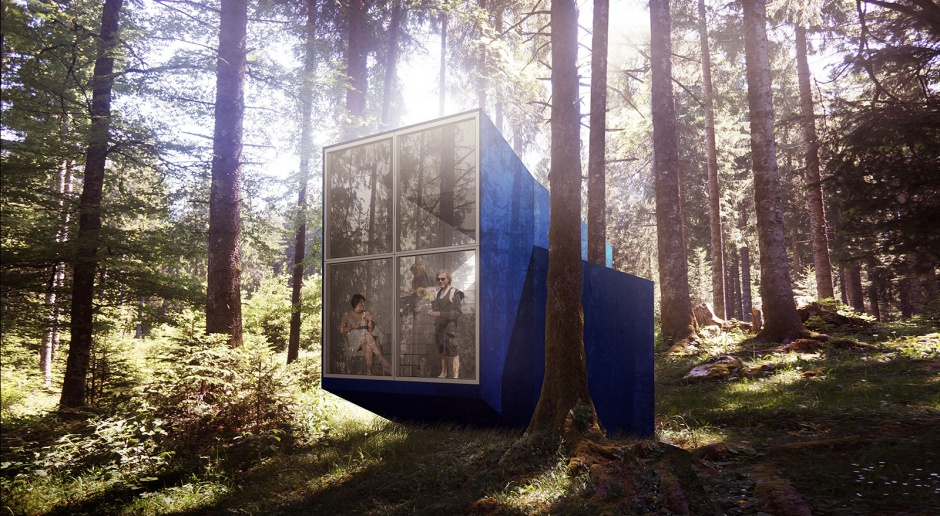 Kemping z marzeń - projekt BXBstudio doceniony przez brytyjski Wallpaper