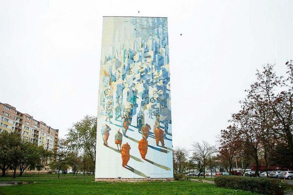 Festiwal murali w Łodzi - Wieża Babel rozpoczyna serię