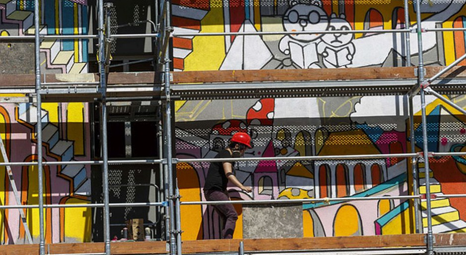 Do końca 2015 r. w Łodzi będzie 50 murali