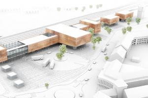 Jak mógłby wyglądać dworzec w Goleniowie? Pozostałe projekty konkursowe