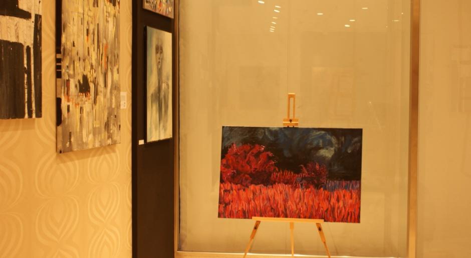 Sztuka w galerii... handlowej
