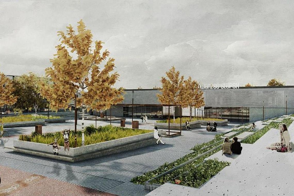 Dworzec w Słupsku według projektu pracowni NMarchitekci i FUV architekci