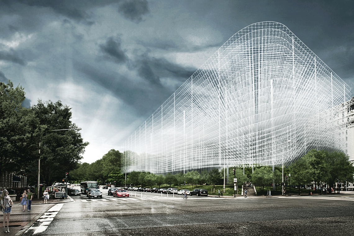 Transparentny pomnik I Wojny Światowej - oryginalny, niezwykły projekt KAMJZ
