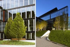 Hermanowicz Rewski zaprojektowali Postępu 14. A kto zrealizował biurowiec?