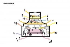Zielone centrum kultury, zupełnie jak z bajki, projektu MVRDV
