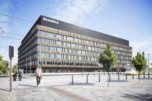 Pierwszy biurowiec w Nowym Centrum Łodzi na finiszu. To projekt Medusa Group