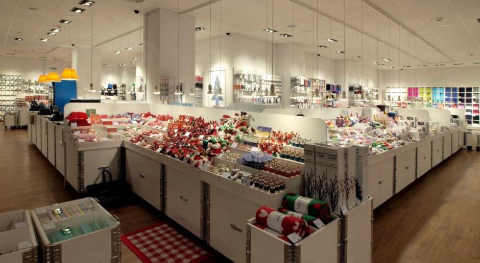 Designerski salon Tiger w minimalistycznym, duńskim stylu