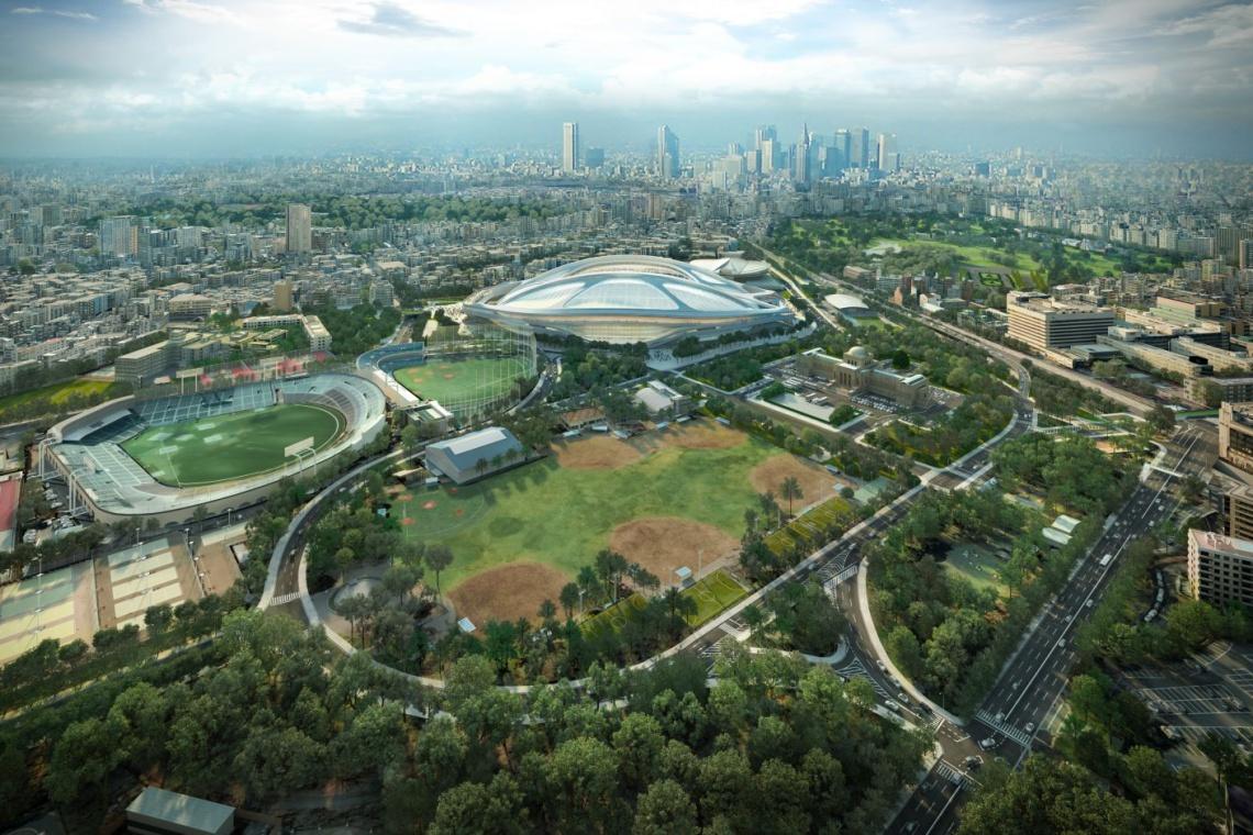 Niepokorna Zaha Hadid chce ponownie wygrać konkurs na stadion w Tokio