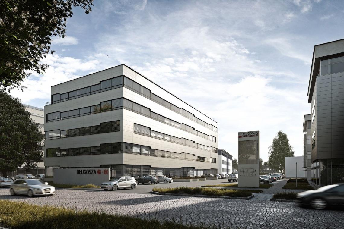 Nowy biurowiec we Wrocławiu według koncepcji AP Szczepaniak