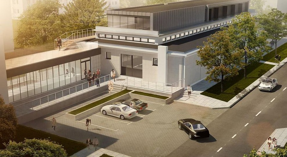 Zobacz jak powstaje hala dla buddystów spod kreski Grupy 5 Architekci
