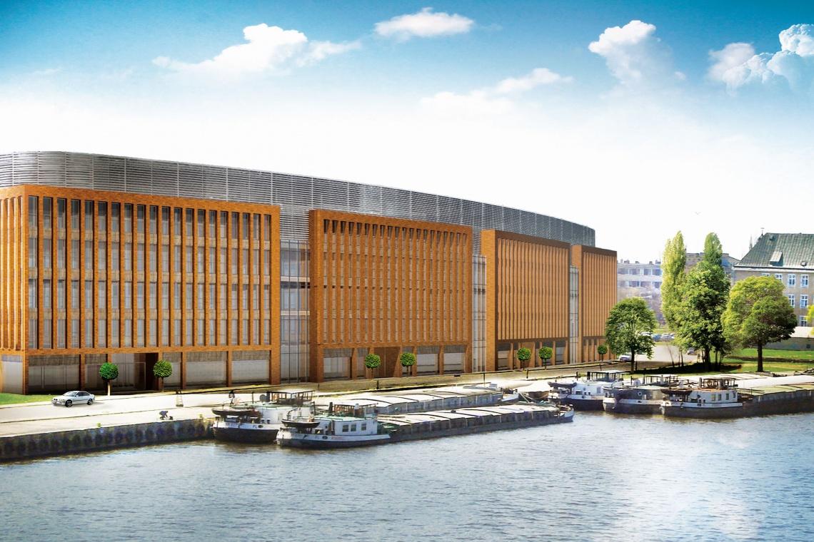 Lastadia Office, projektu Orłowski Szymański Architekci, oficjalnie ekologiczna