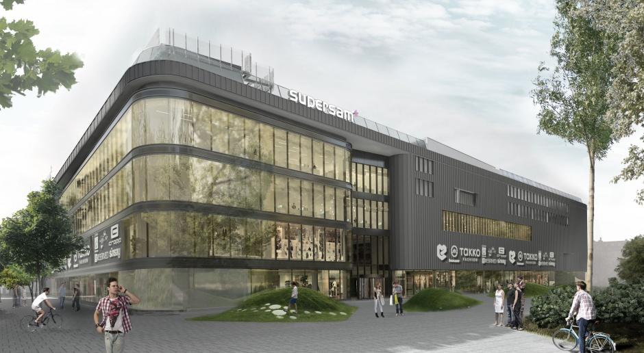 Nowy Supersam w Katowicach otwarty. To projekt Konior Studio