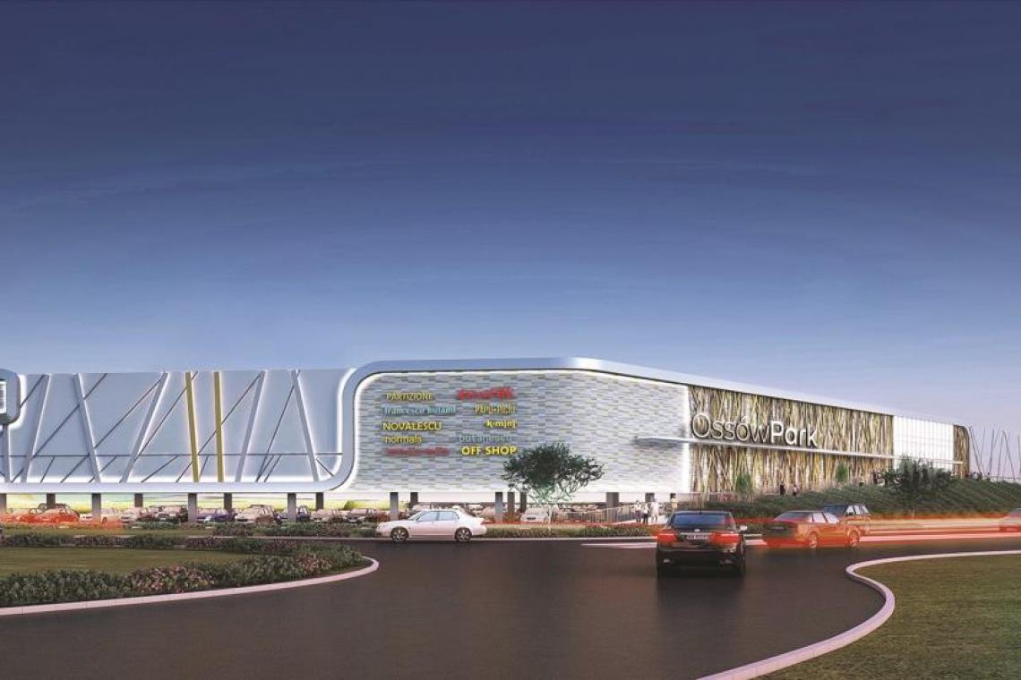 Trwają prace projektowe przy nowym centrum handlowym Ossów Park