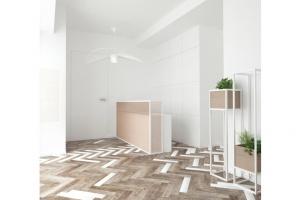 Minimalizm, elegancja i biel w projekcie kliniki od Maka Studio