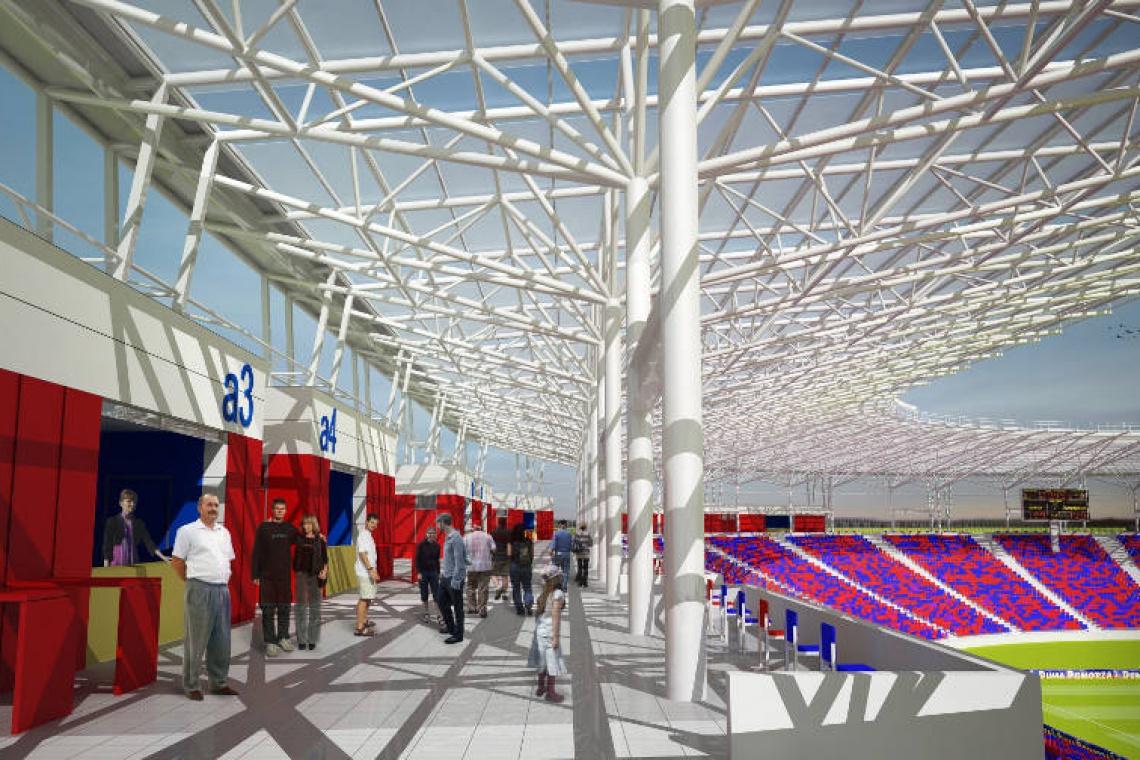 Nadal trwa projektowanie stadionu miejskiego w Szczecinie