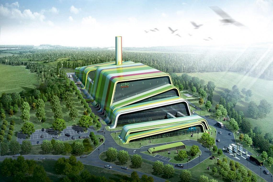 Kolorowa i ekologiczna spalarnia odpadów powstaje w Krakowie