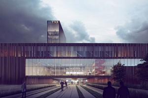 Nowa siedziba TVP projektu Mąka Sojka Architekci