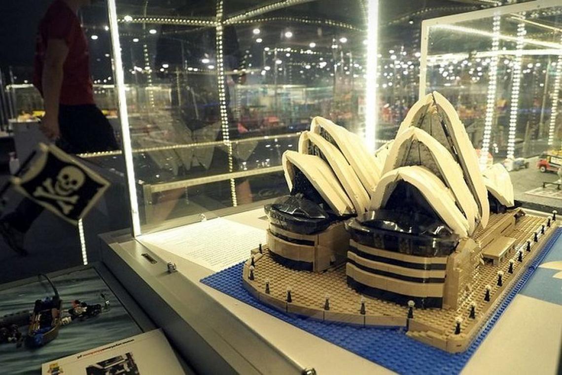 Zobacz budowle architektoniczne z klocków LEGO