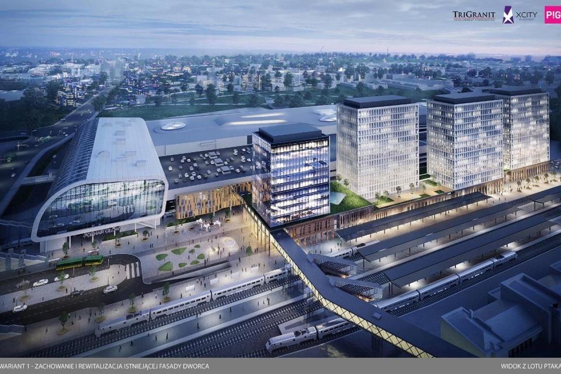 Jak będzie wyglądać fasada dworca w Poznaniu?