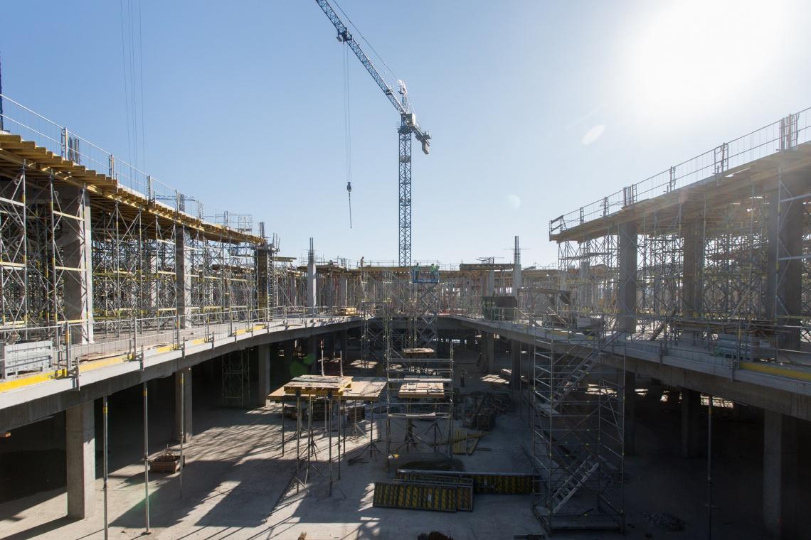 Centrum Posnania zaprasza na spacer po budowie