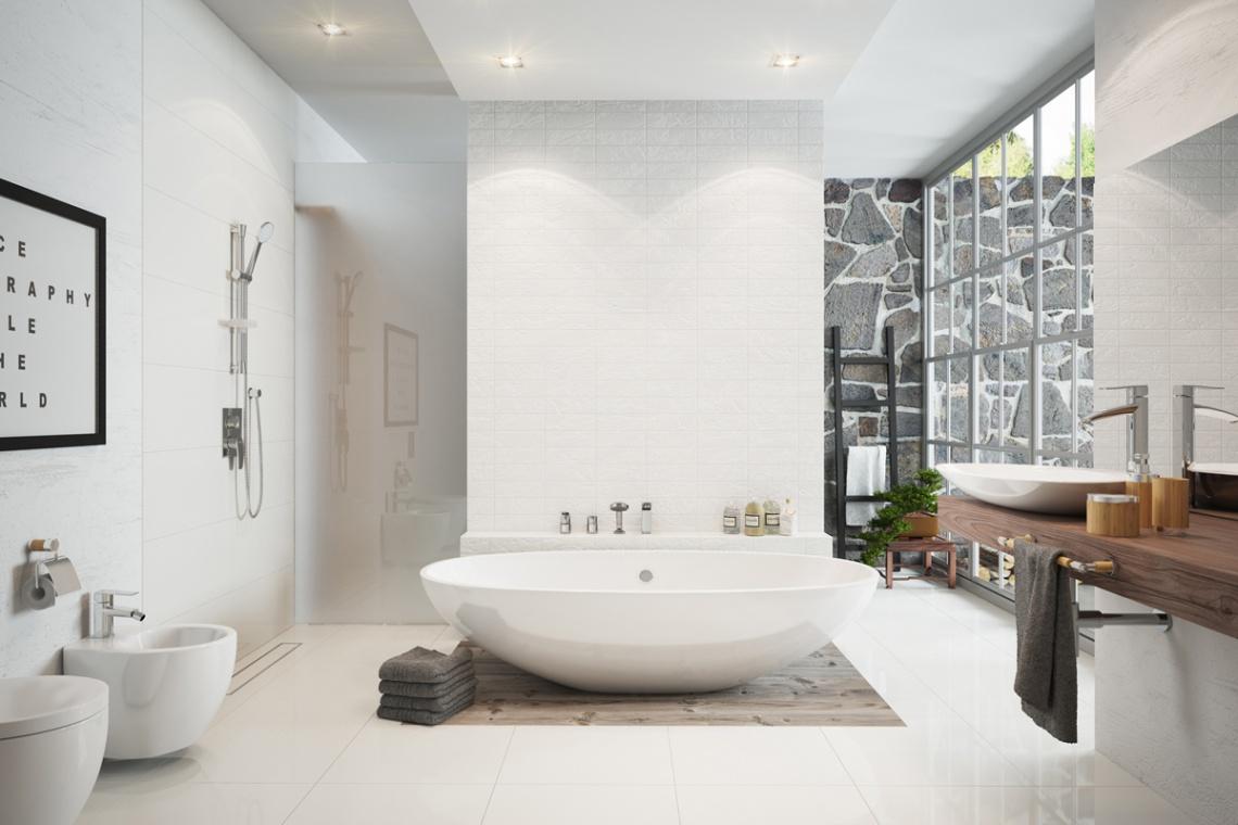 Baterie bidetowe mogą stanowić elegancką ozdobę łazienki
