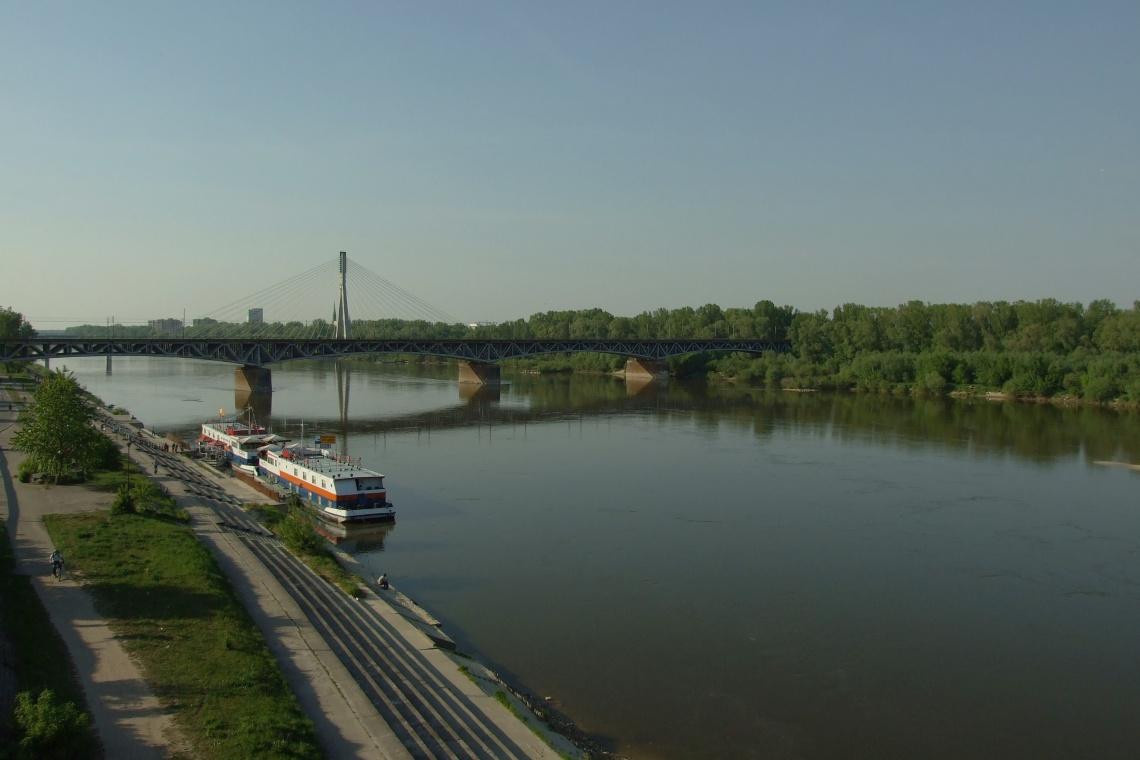 Warszawa: Powstanie 300-metrowa kładka rowerowa nad Wisłą