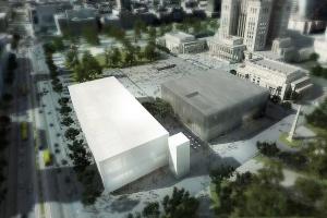 Plac Defilad się zmieni. Nowa koncepcja Muzeum Sztuki Nowoczesnej i Teatru Rozmaitości