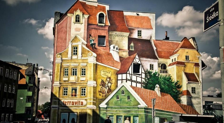 Efektowny mural w 3D powstał w Poznaniu