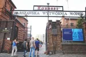 Strefa Konesera w warszawskiej fabryce wódek