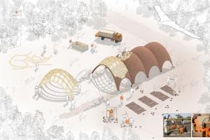 Projekt wybiegający w przyszłość - port dla dronów