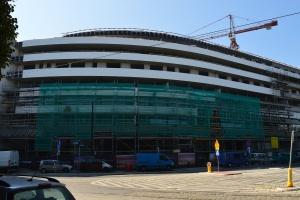 Dach OVO Wrocław prawie gotowy