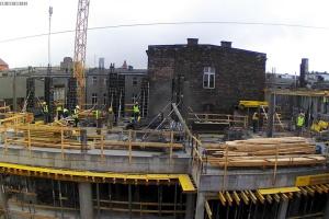 Co słychać na budowie biurowca Staromiejska 13a w Katowicach?