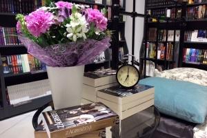 Księgarnia w domowym klimacie
