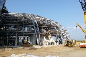 Trwa budowa CWK w Jasionce. To projekt pracowni Henryka Sobolewskiego