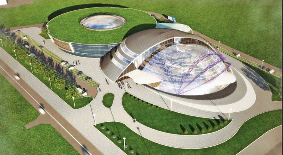Centrum kongresowe w Jasionce - największy taki kompleks w Podkarpackiem