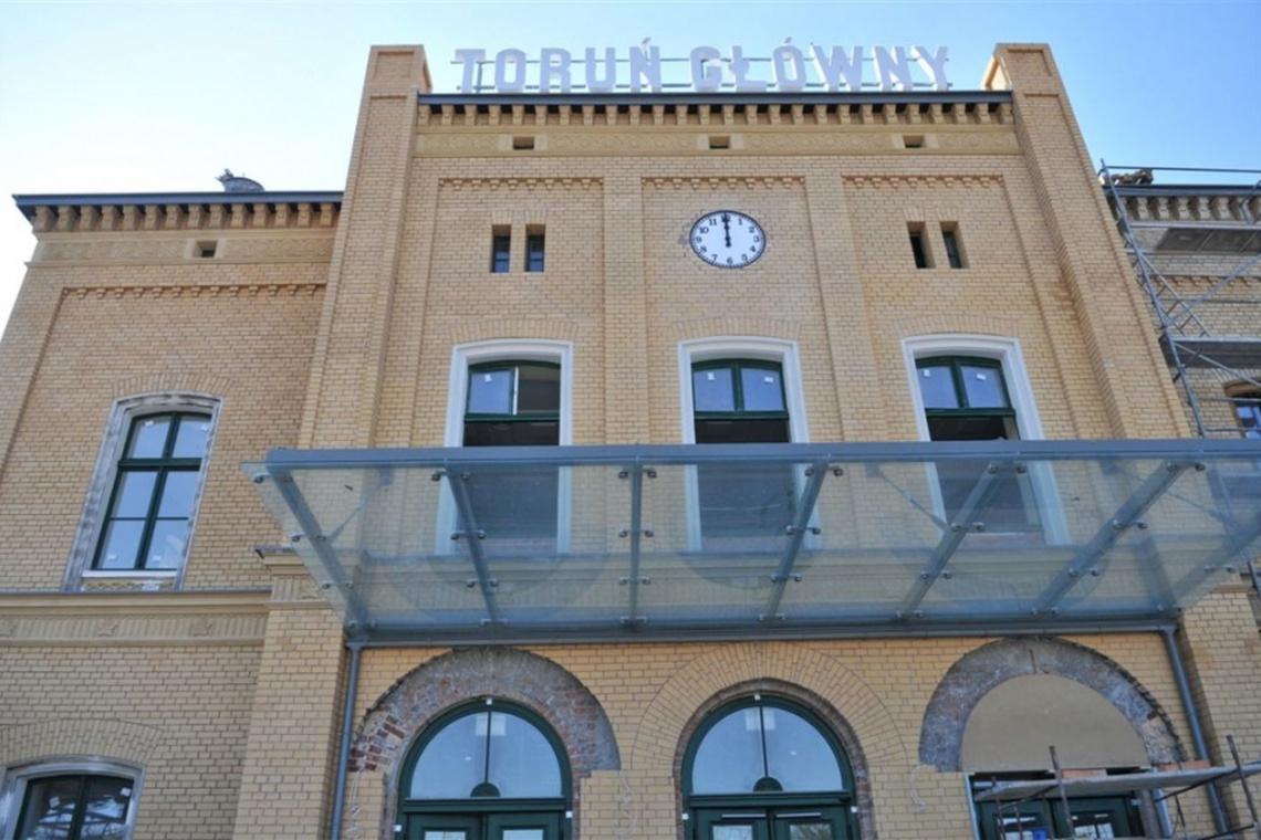 Dworzec Toruń Główny przed oficjalnym otwarciem